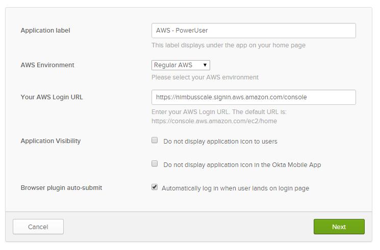 AWS User Federation with Okta – Part 1: Console Access